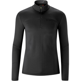 Maier Sports Surprise Midlayer Men, black/lime punch